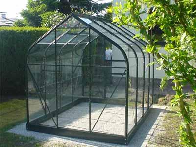 Glashaus aufgebaut (Bildquelle: Henry)