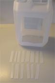 Zerschnittener Wasserkanister (Bildquelle: Henry)