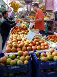 Markt in Valencia (Bildquelle: Henry)